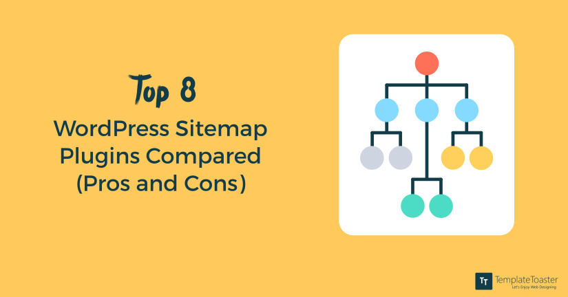 Top 8 WordPress Sitemap Plugins compared with pros and cons blog