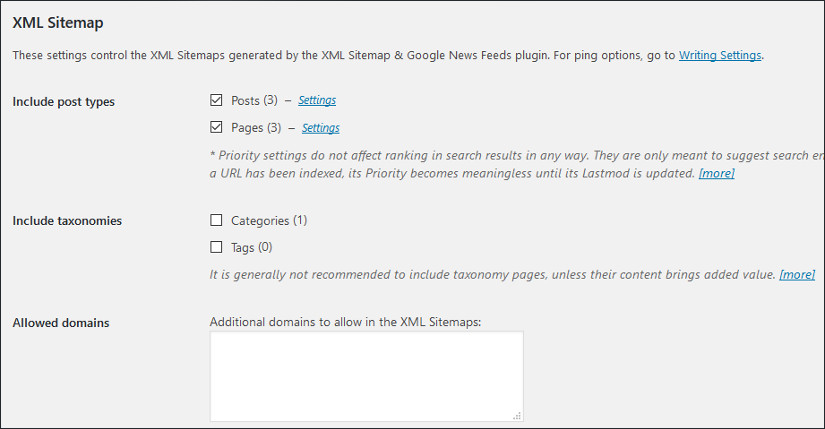 XML Sitemap & Google News feeds wordpress plugin