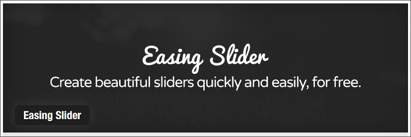 easing slider wordpress slider plugin
