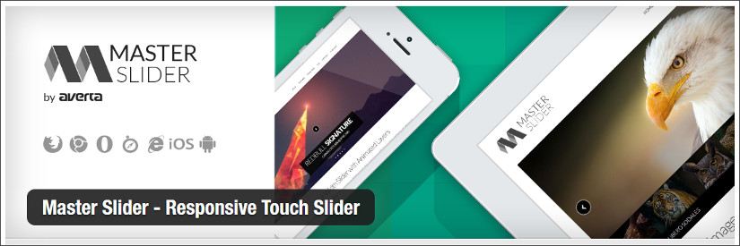 master slider wordpress slider plugin