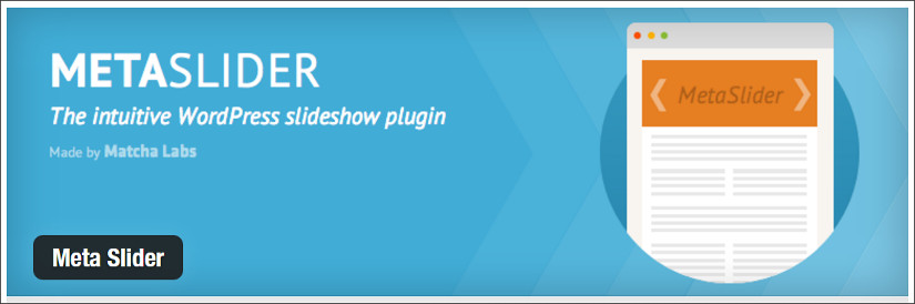 meta slider wordpress slider plugin