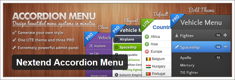 nextend accordion menu wordpress plugin