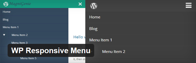 wp responsive wordpress menu plugin
