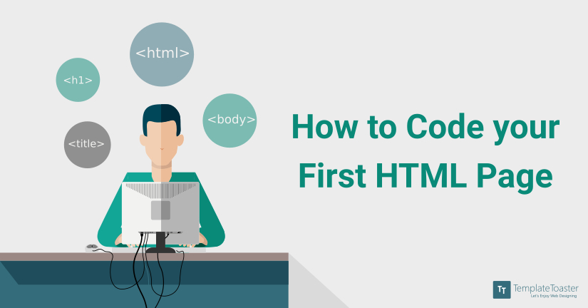 How to Create Simple HTML Page Blog image