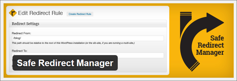 safe redirection manager wordpress redirect plugin