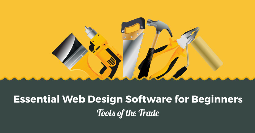Essential web design software for beginners tools of the for Program design tools