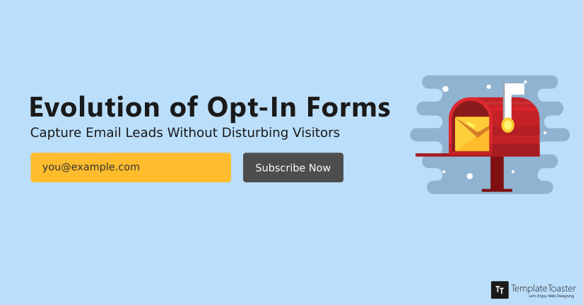 Evolution of Opt-In Forms Capturing Newsletter Subscribers Blog image