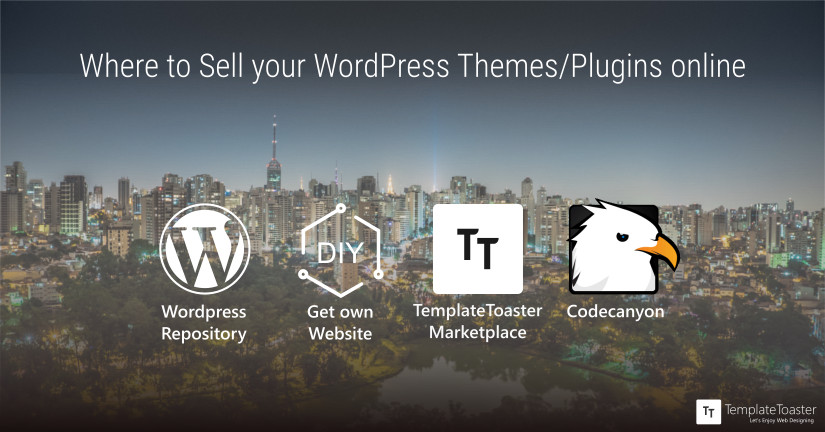 Where to Sell WordPress Themes/Plugins online Blog image