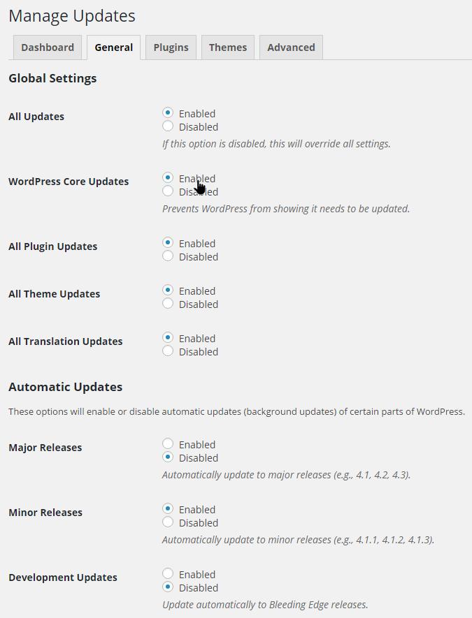 manage updates2