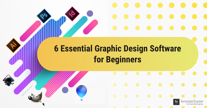 Graphic Design Software for Beginners blog image