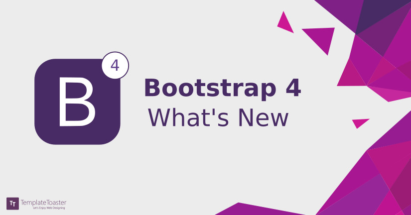 Bootstrap 4 what's new Blog image