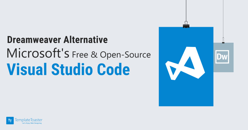 Dreamweaver Alternative Free Open-Source Microsoft Visual Studio Code blog image