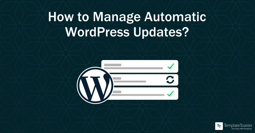 Automatic WordPress Updates: Guide to Configure and Manage effortlessly blog image