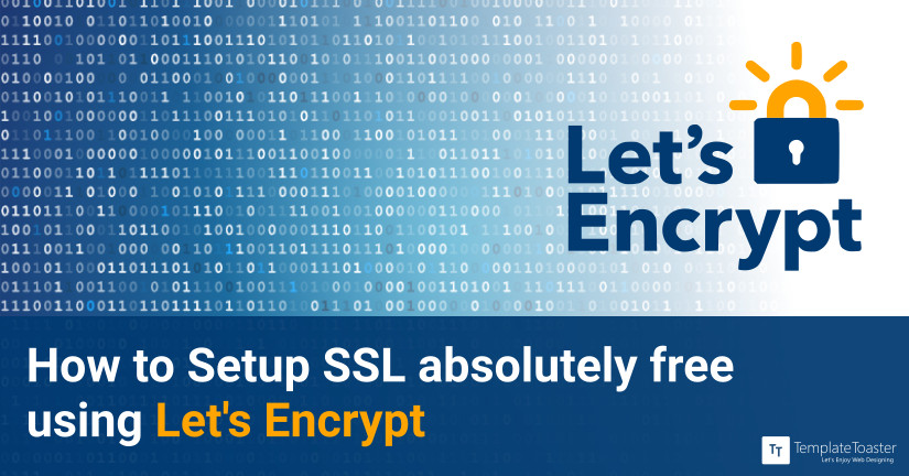 How to Setup SSL Free of Cost using let's encrypt blog image