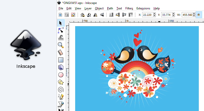 Inkscape graphic design software