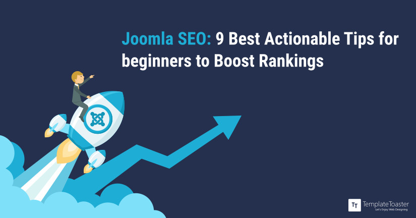 Joomla SEO - 9 Best Actionable Tips for beginners to Boost Rankings Blog image