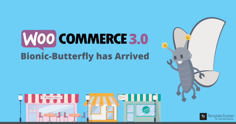 WooCommerce 3.0 Update! Bionic-Butterfly has Arrived Blog image