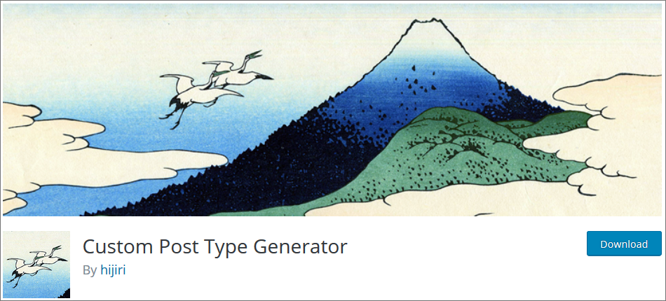 Custom-Post-Type-Generator WordPress Custom Post Type Plugins list