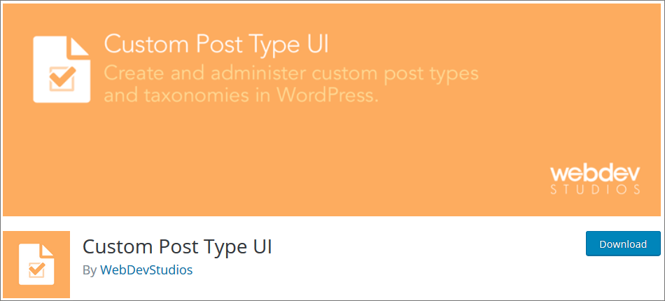 WordPress Custom Post Type Plugins list