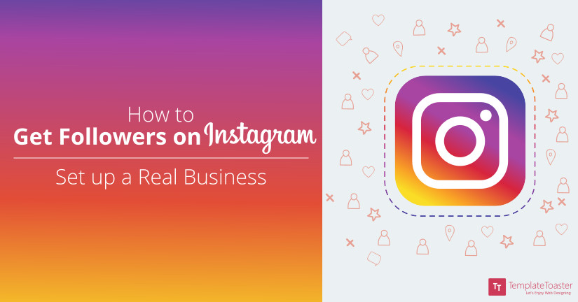 How to Get Followers on Instagram + Set up Real Business Blog image