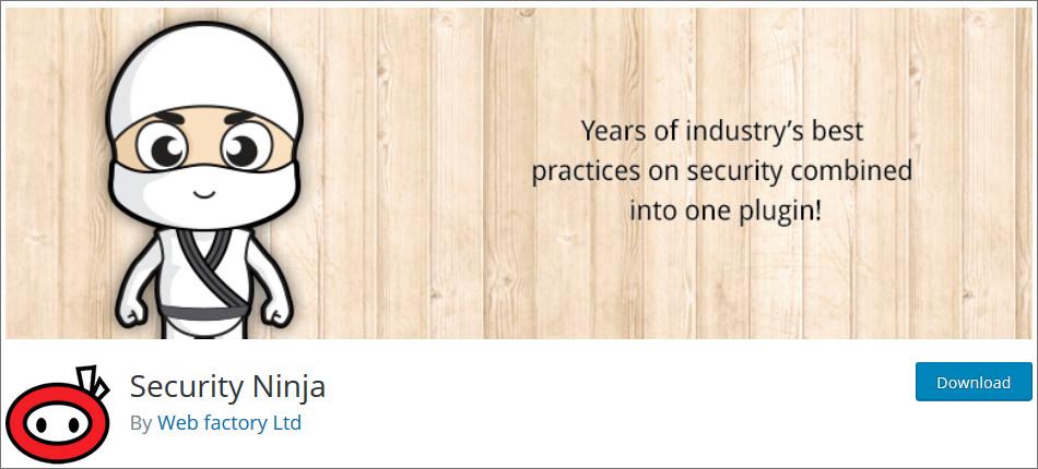 Security-ninja WordPress Security Plugins list