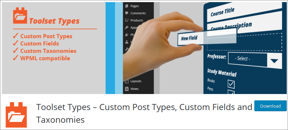 WordPress Custom Post Type Plugin list