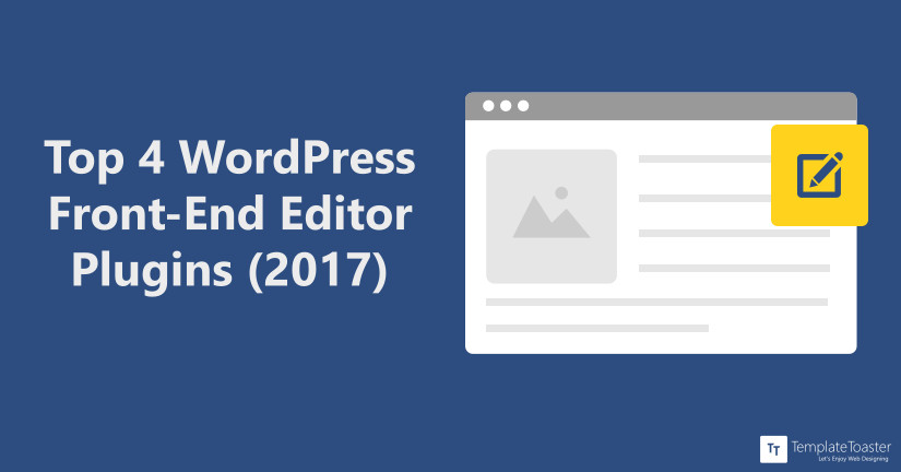 WordPress Front End Editor Plugins blog