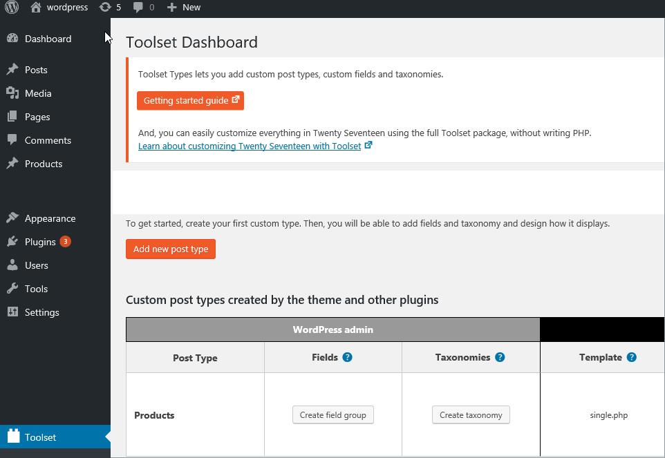 WordPress Custom Post Type Plugins