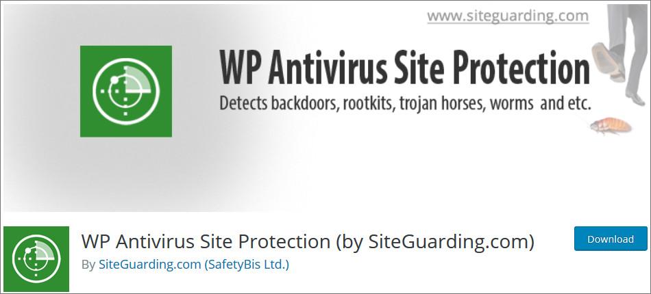 WP antivirus site Protection Security Plugin