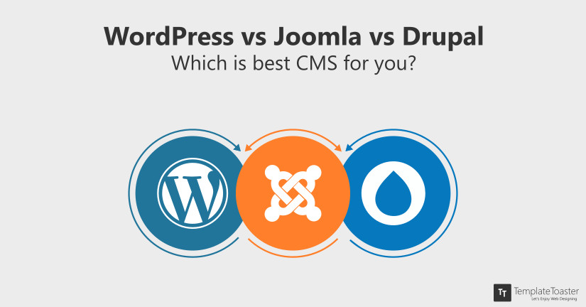 WordPress vs Joomla vs Drupal Which is the best CMS for you blog