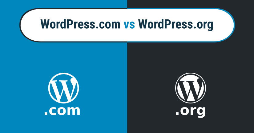 WordPress.org vs WordPress.com difference blog