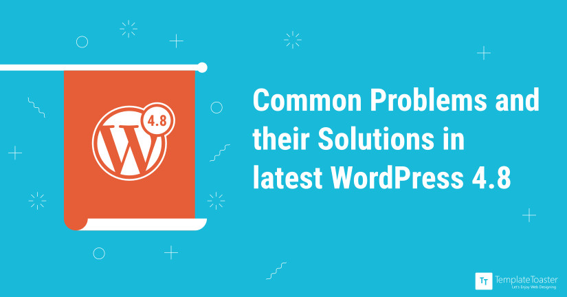 WordPress 4.8 Issues Common Problems and their Solutions blog