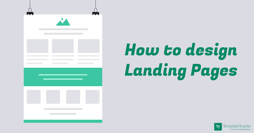 How to design a Landing Page Blog