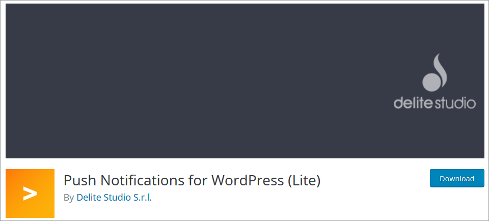 WordPress Push Notifications plugin Push Notifications for WordPress (Lite)