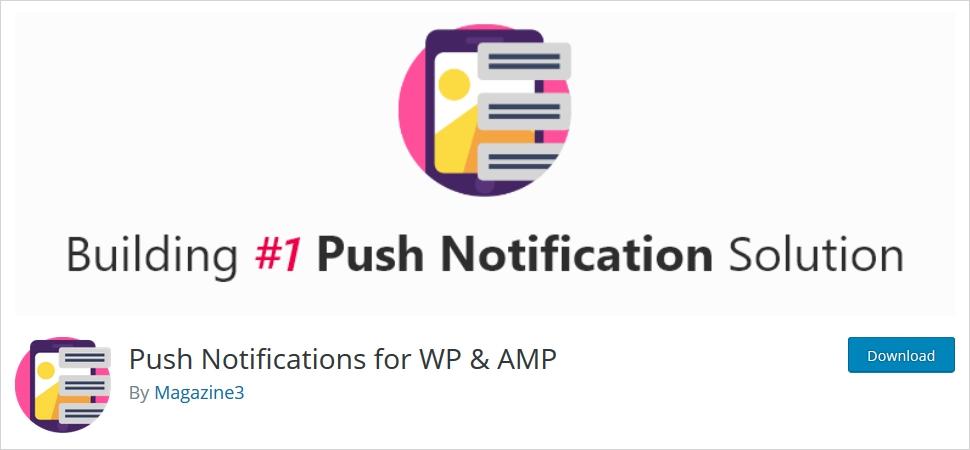 WordPress push notifications plugin