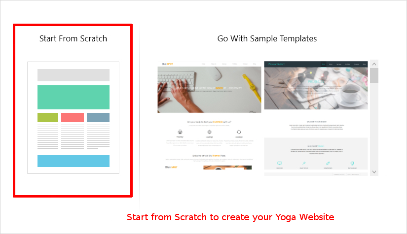 how to design best yoga website step by step tutorial with images