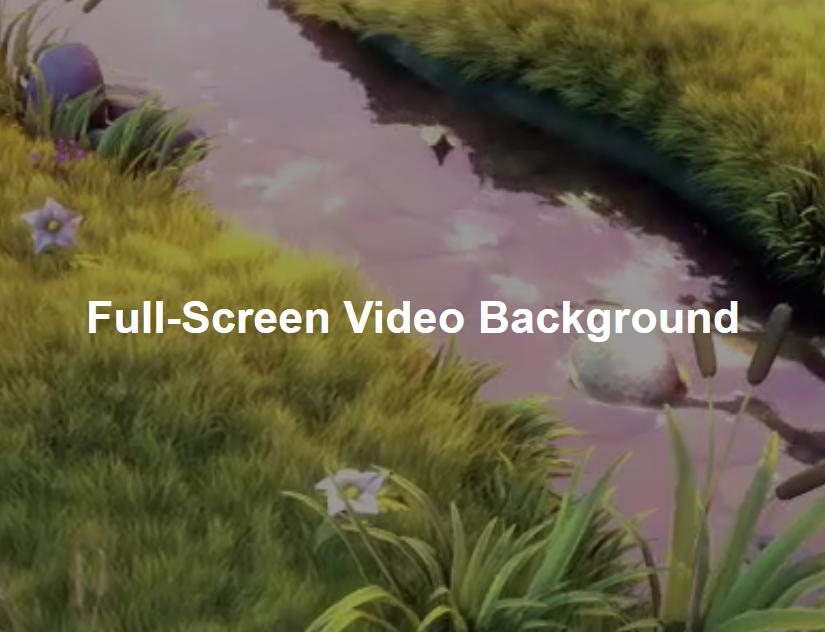 WordPress Video Background Plugins list