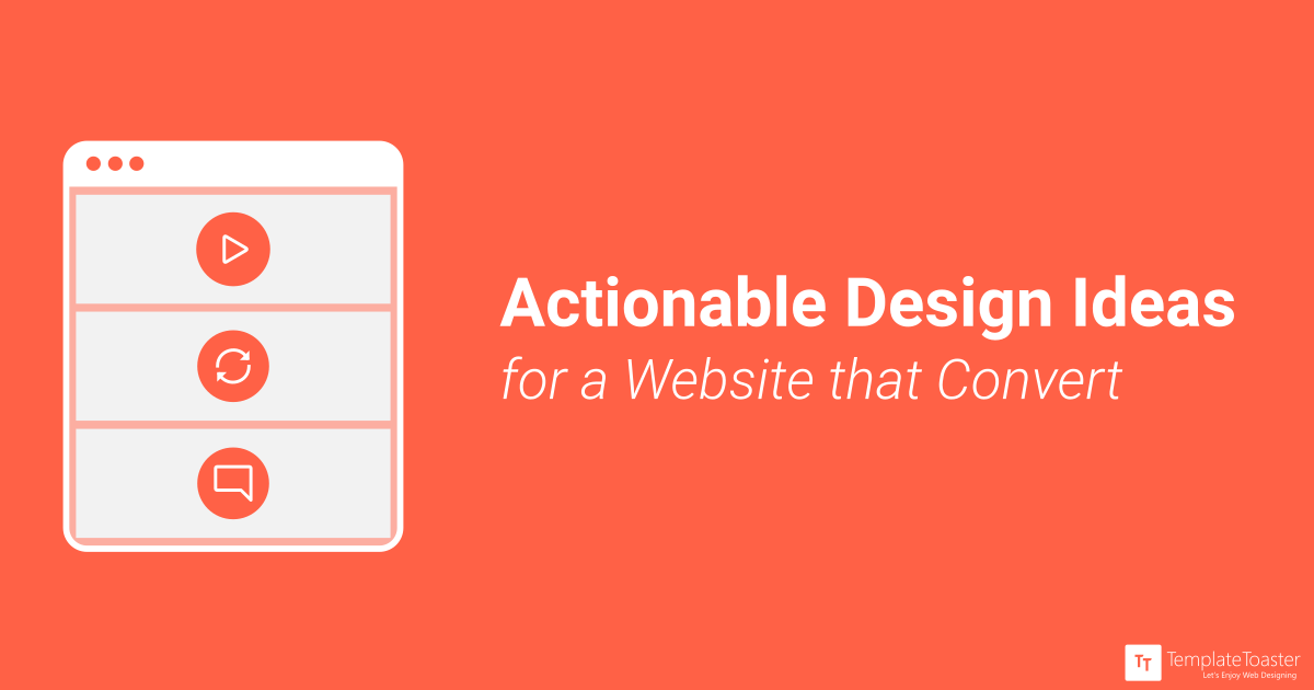 7 Actionable Design Ideas For A Website That Converts