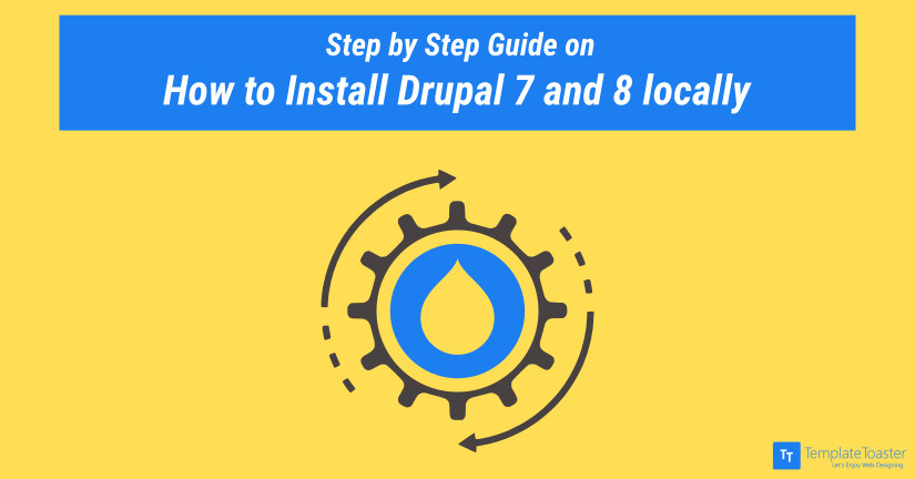 How to Install Drupal 7 and 8 locally