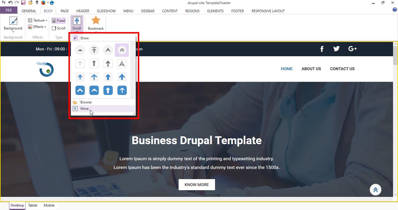 Create Drupal Theme