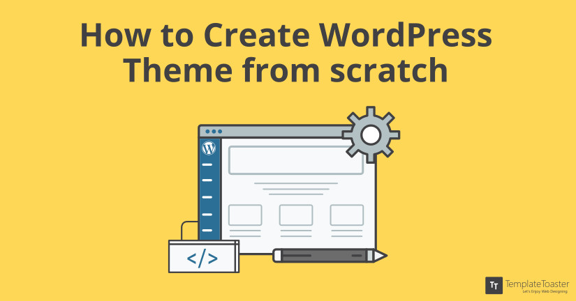 create wordpress theme