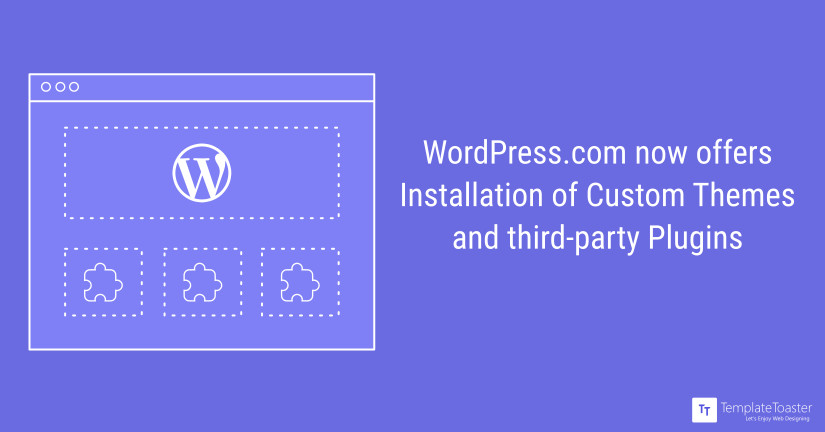 Major release from Wordpress.com: Upload Themes & Install Third ...