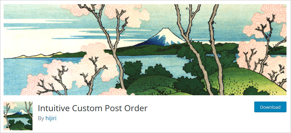 WordPress Post Order