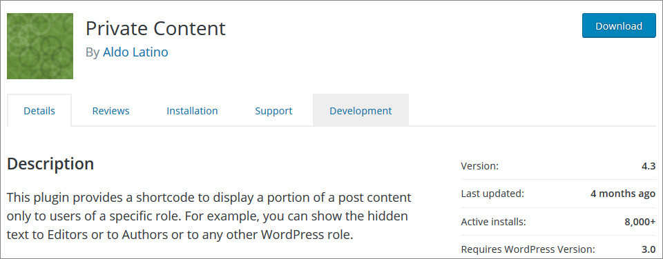 Make WordPress Site Private