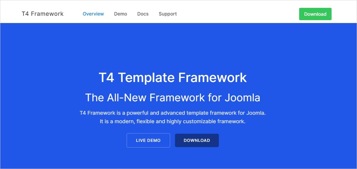 Joomla template Frameworks