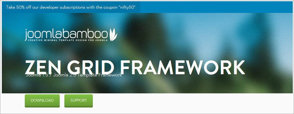 Top 5 Joomla Frameworks: Roots Catering the Templates