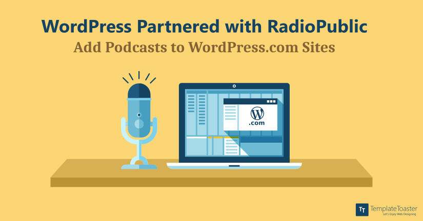 Add Podcasts to WordPress.com