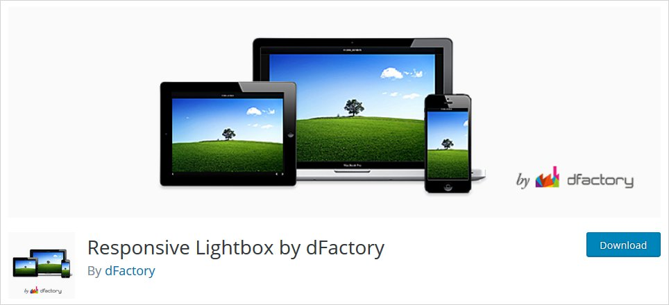 responsive wordpress lightbox plugin list