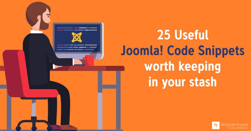 Joomla code snippet