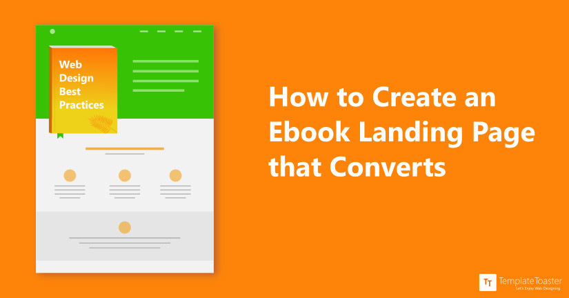 How To Create An Ebook Landing Page Tutorial For Beginners